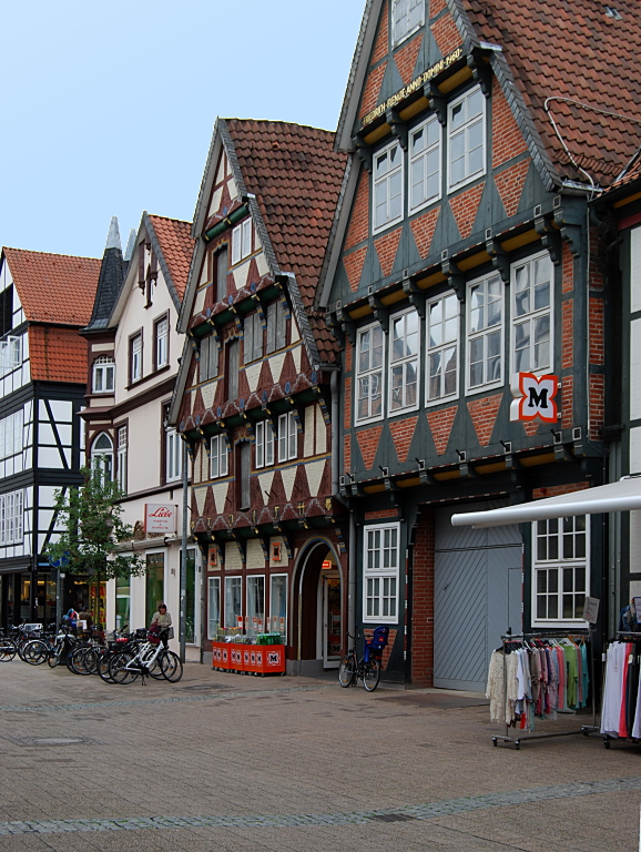 Die Poststraße in Celle