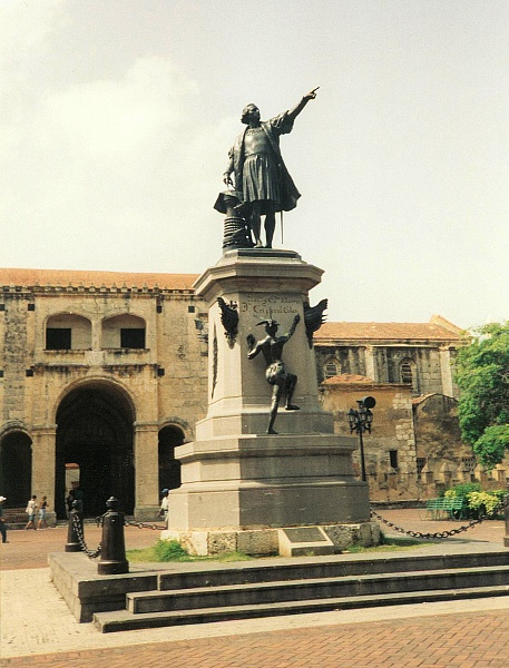 Kolumbus-Denkmal in Santo Domingo