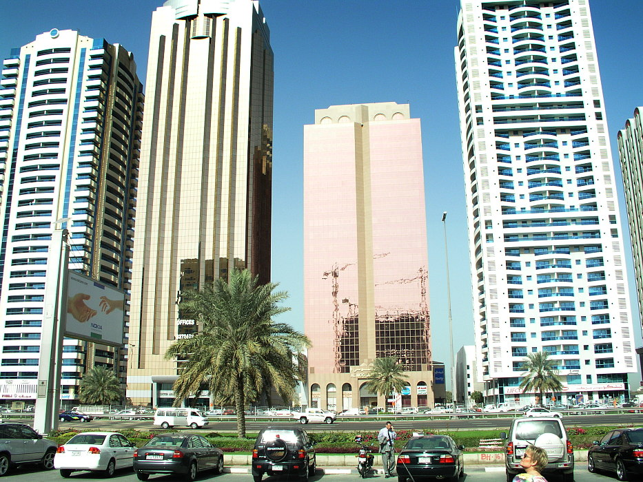Near World Trade Center, Dubai