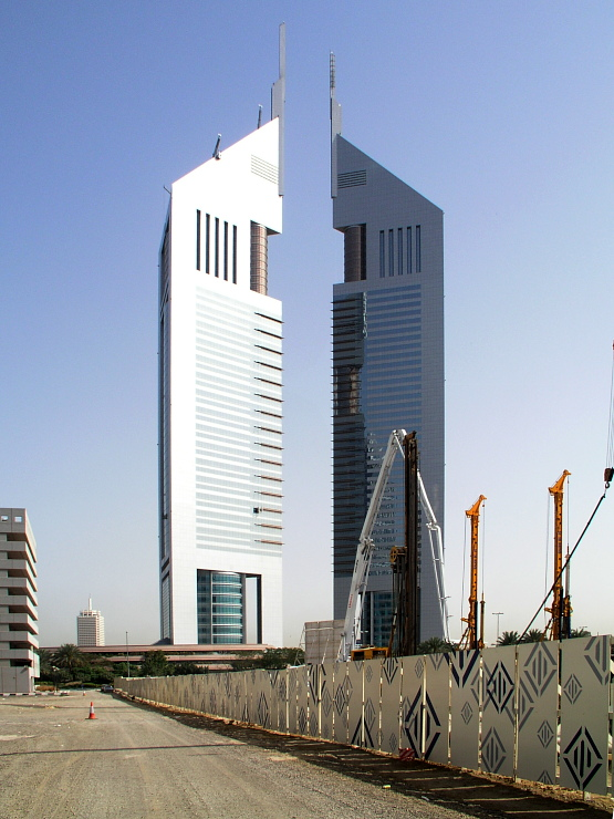Emirates Towers, Dubai 2004