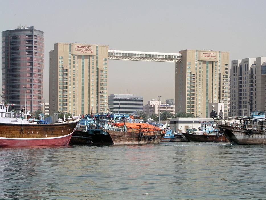 Marriott Hotel Dubai Foto Von Heinz Albers