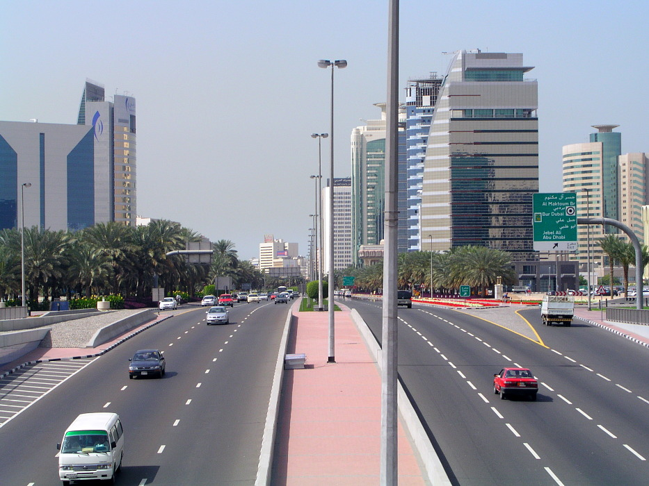 Photo: Dubai Highway