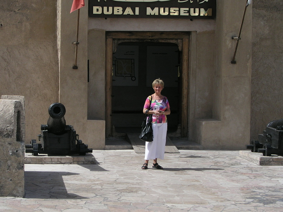 Dubai: Nationalmuseum im Fort