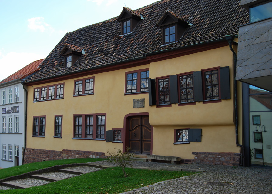 Das Bach-Haus in Eisenach