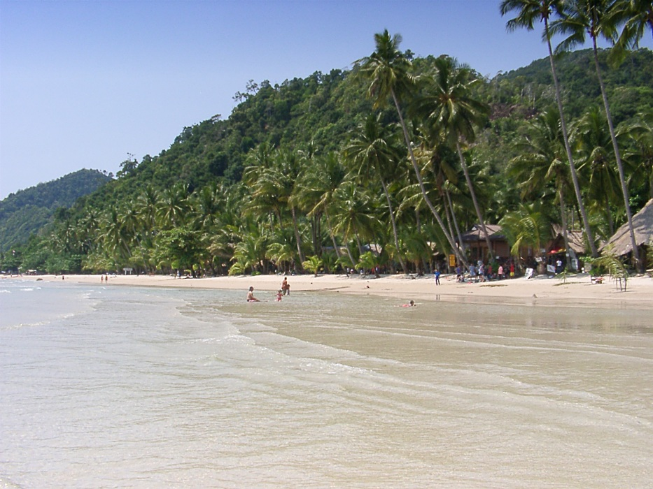 Koh Chang, White Sand Beach 2003