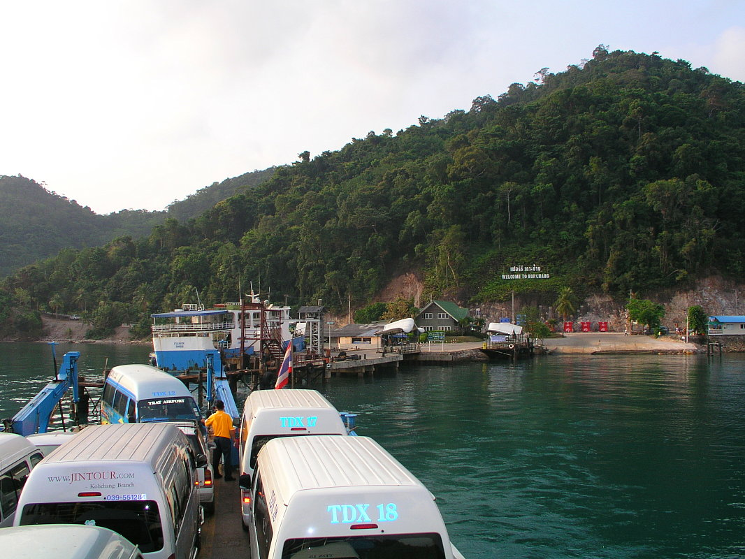 Koh Chang, Car Ferry