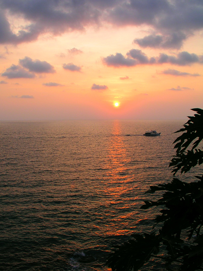 Sunset near Ko Chang Hut