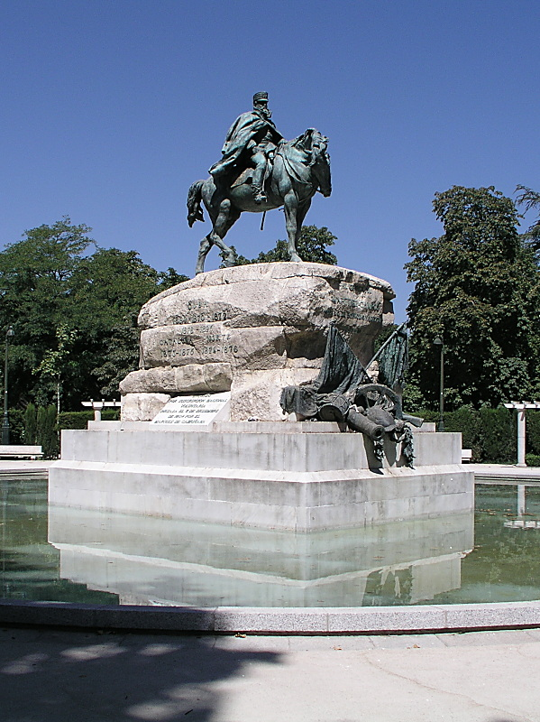 Campos-Monument in Madrid