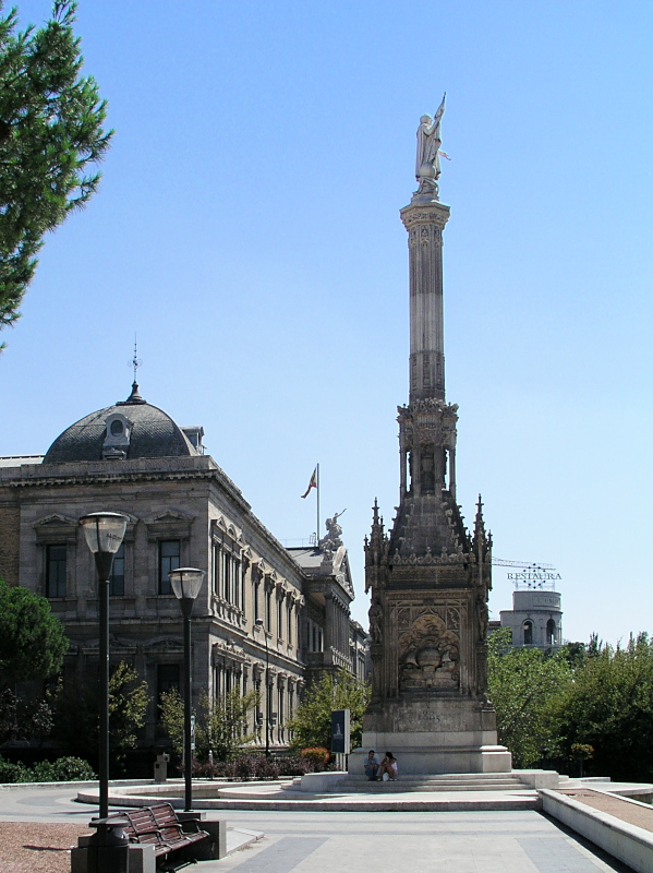 Monumento a Colon in Madrid