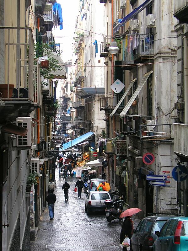Neapel - Napoli, Spaccanapoli