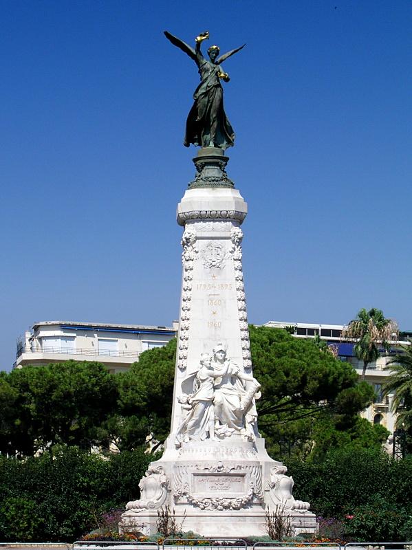 Nice - Monument du Cen...