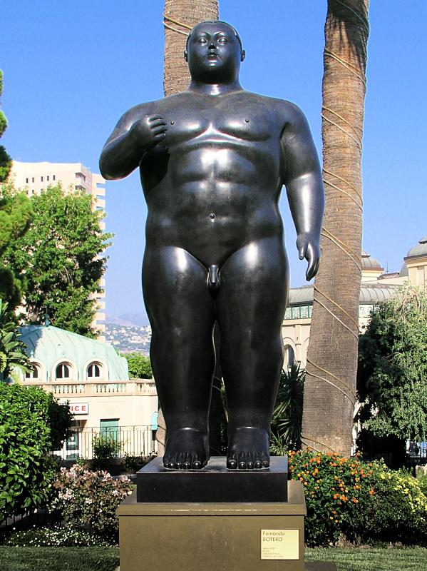"""Fernando Botero: """"Adam"""". Mehr von Fernando Botero"""