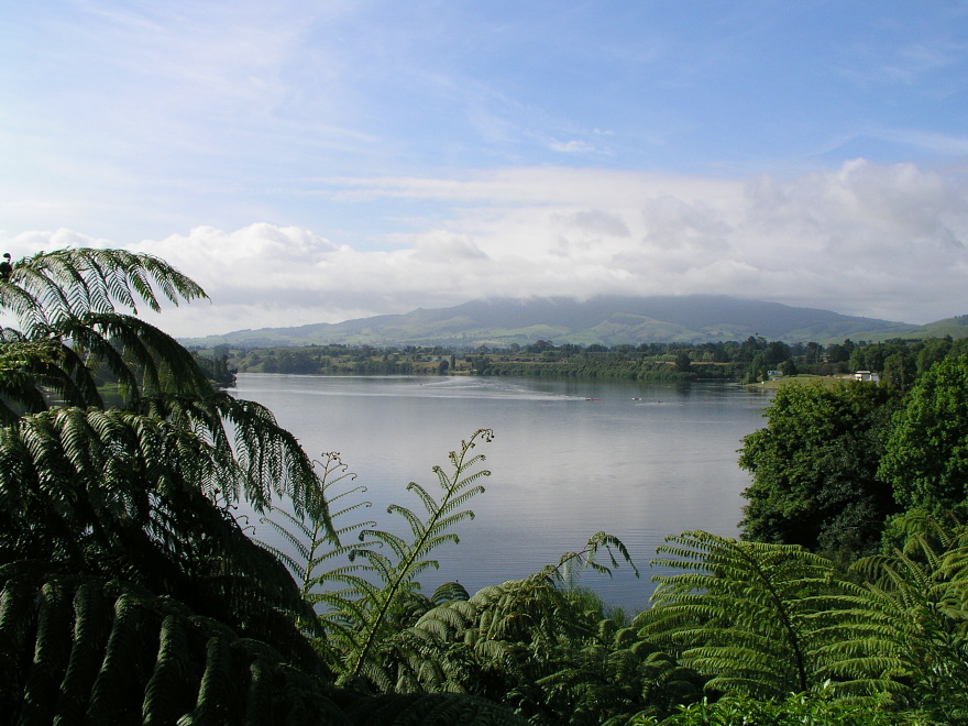 Karapiro New Zealand  city photos gallery : Waikato River, Karapiro, New Zealand