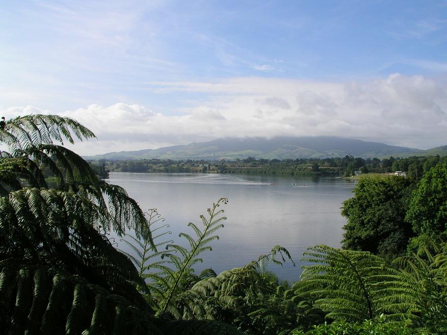 Karapiro New Zealand  city photos gallery : Waikato River, Karapiro, New Zealand