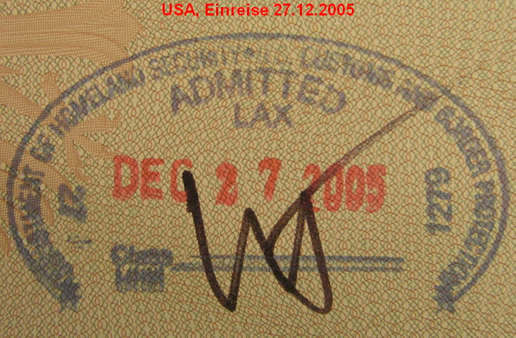Passport-Visum USA