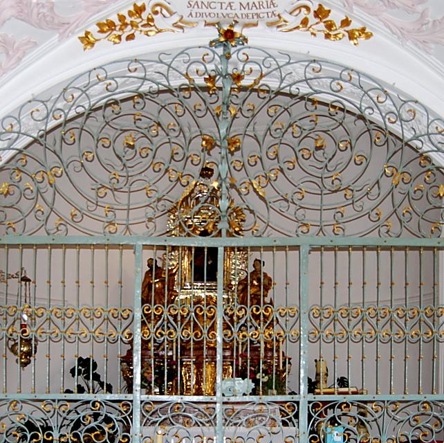 Gnadenbild im stift zu unserer lieben frau in regensburg