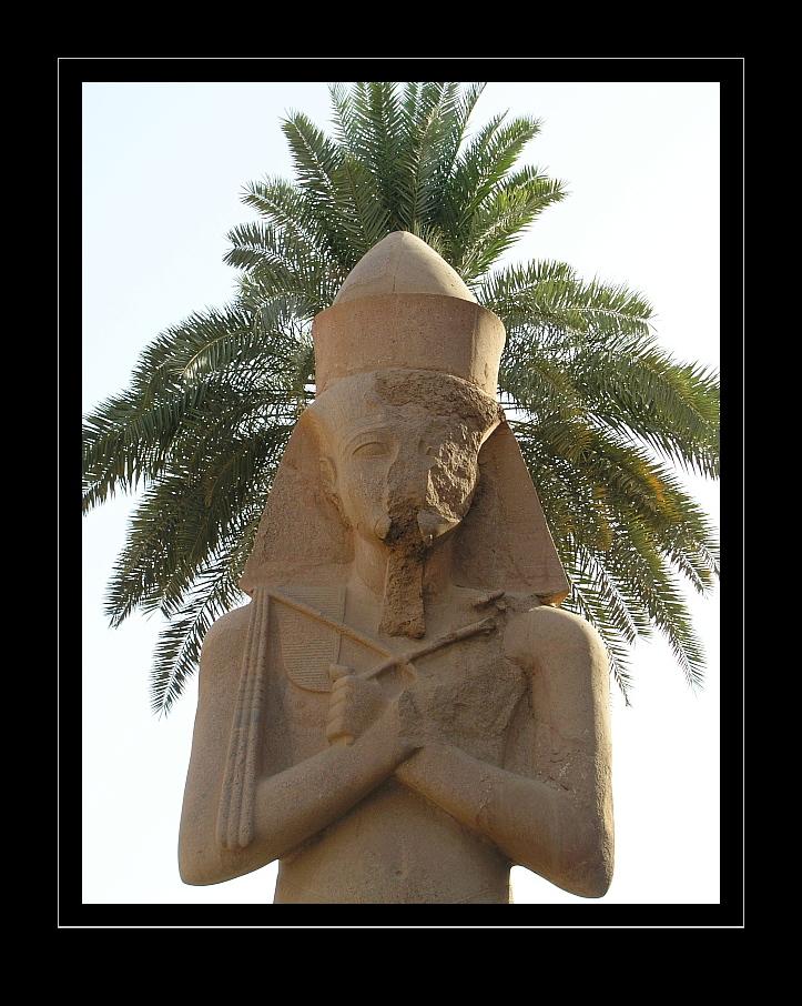 Ramses in Karnak