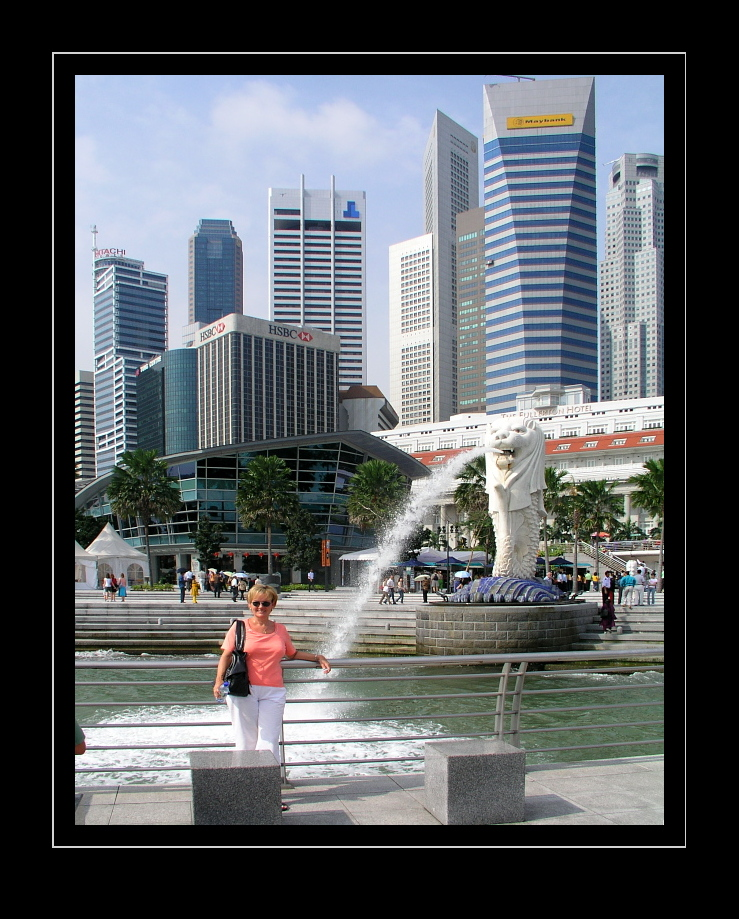 Singapore Skyline, Merlion