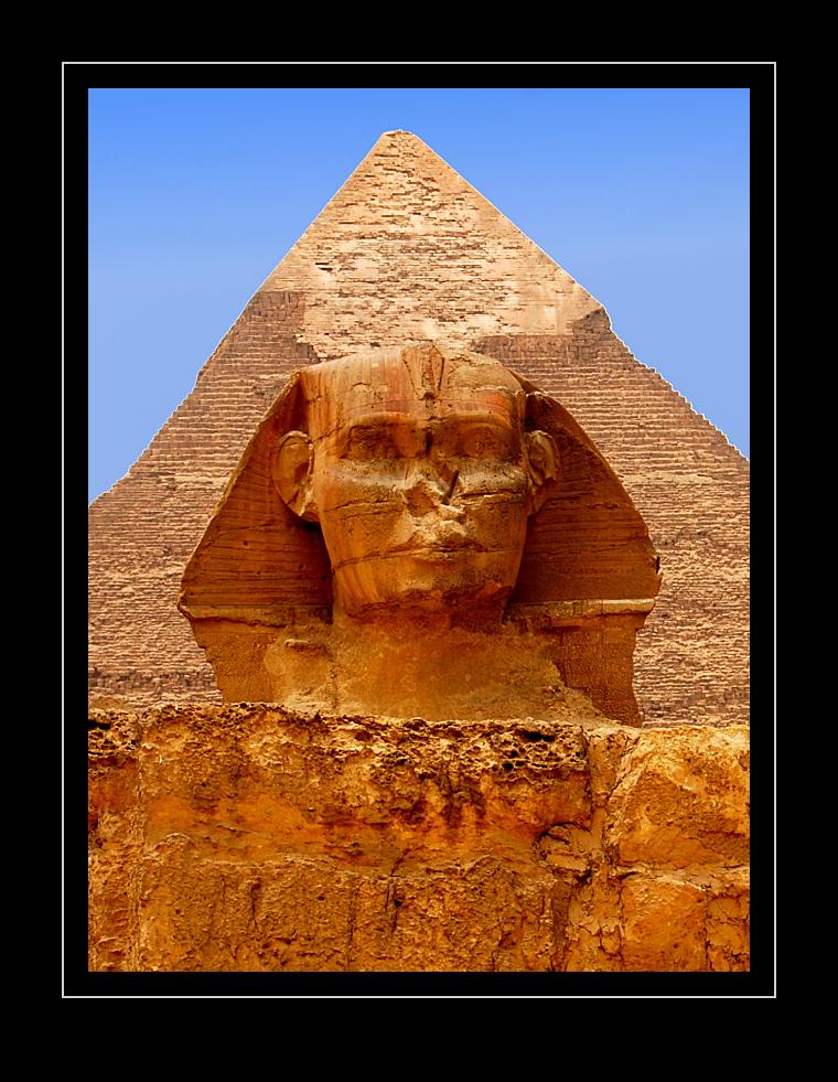 Sphinx und Chephren