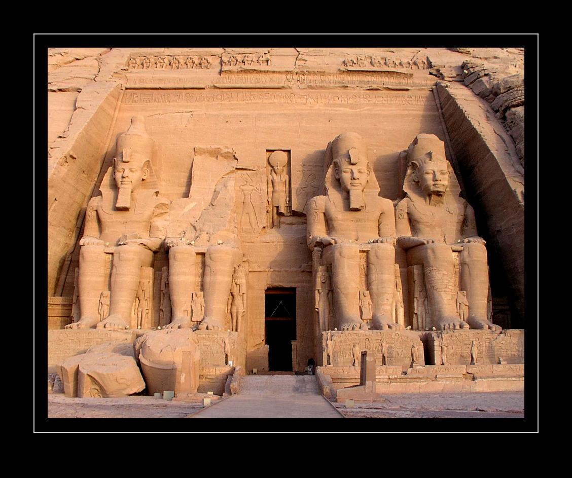 Abu Simbel, Ramses-Tempel