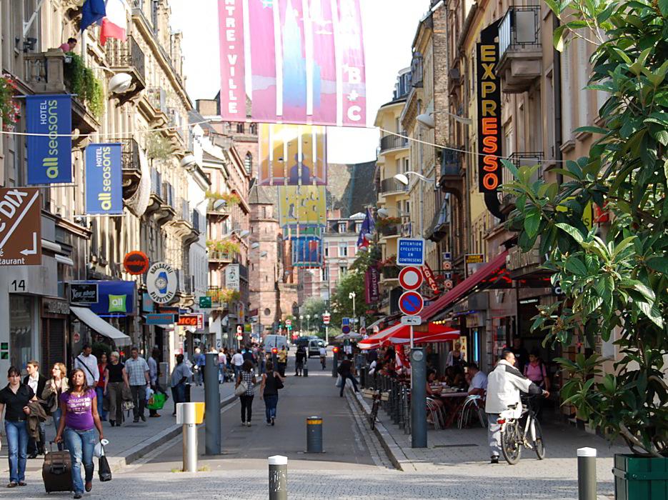 Strasbourg stra burg rue du maire kuss for Rue du miroir strasbourg