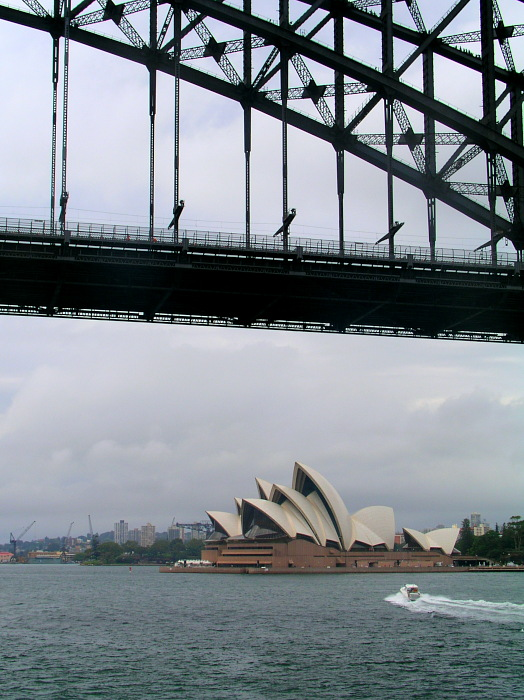 Sydney Opera, Harbour Bridge
