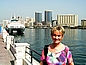 Am Dubai Creek in Dubai 2004