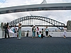 Harbour Bridge. Sicher das imposanteste Bauwerk Sydneys